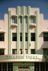 SOUTH BEACH ART DECO PICTURE