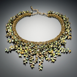royal green necklace