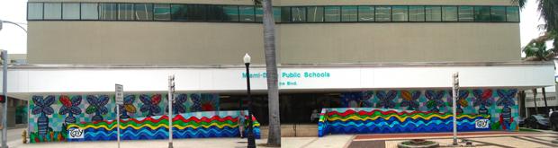 dade county schools mural