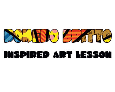 ROMERO BRITTO ART LESSON