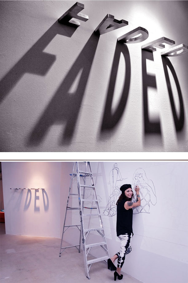 ART MADE WITH SHADOWS