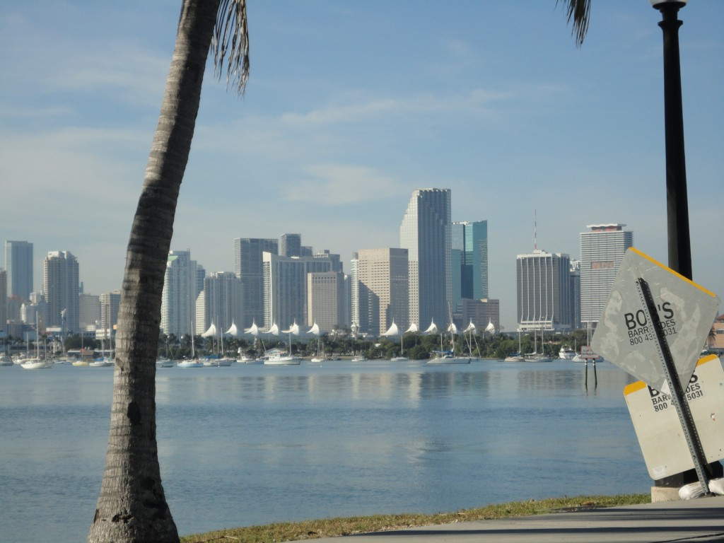 Miami Skyline scene from NW 41st picture credit ArtofMiami.com