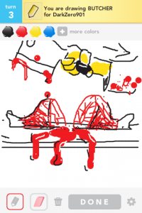 Draw Something: butcher