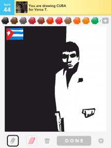 Draw Something : CUba  by Bryan Davis