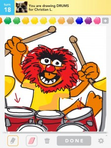 Draw Something: drums by Bryan Davis
