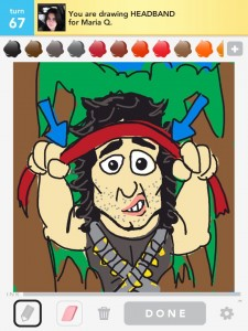 Draw Something :  by Bryan Davis head band