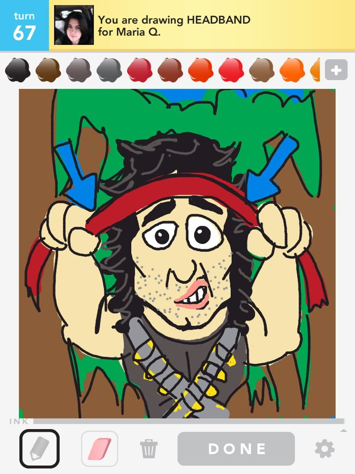 Draw Something : head band by Bryan Davis