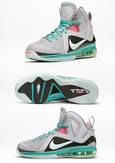 """lowest price c80d2 31c4f Lebron 9 Elite """"South Beach"""" release June 2nd"""