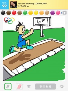 Draw Something :longjump by Bryan Davis