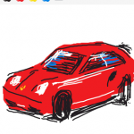 Draw Something: Porshe by artofmiami.com