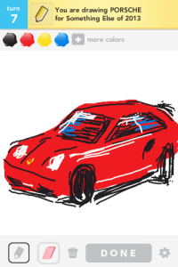 Draw Something: Porshe