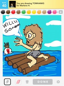 Draw Something:tom hanks