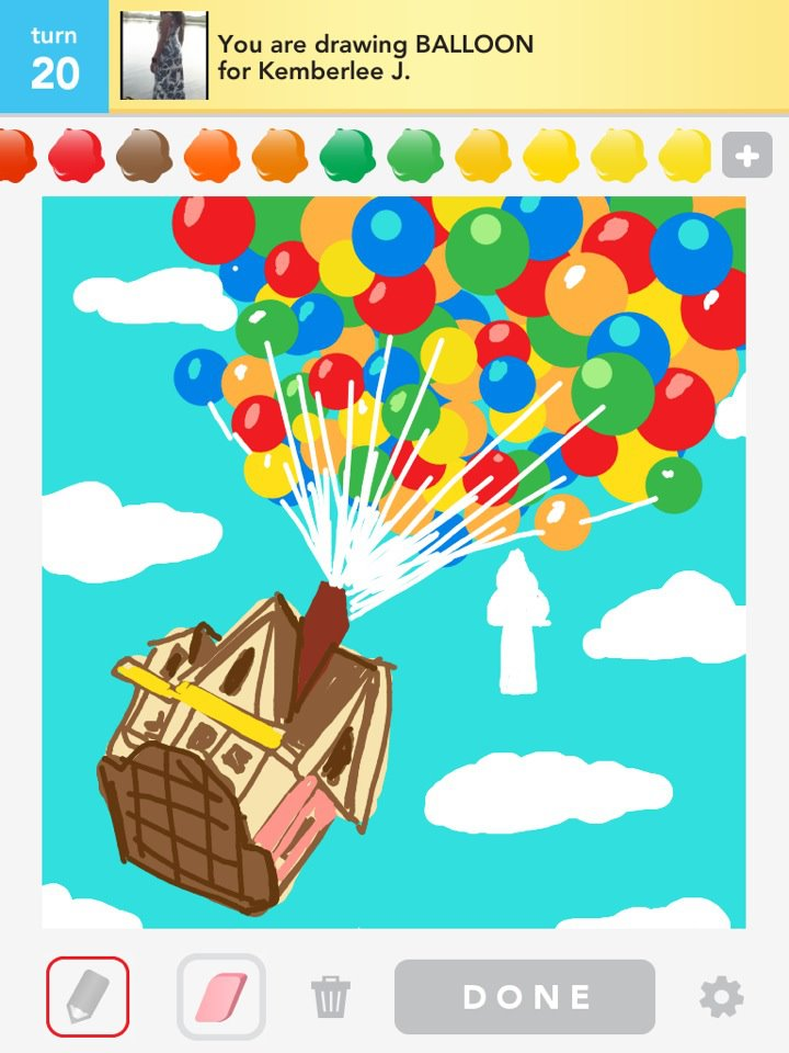 Draw Something: Up by Bryan Davis