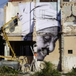 cuba murals by JR