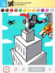Draw Something: ape