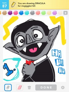 Draw Something: dracula