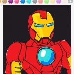 Draw Something: ironman