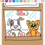 Draw Something: petshop