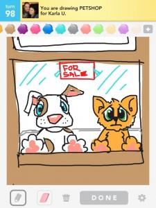 Draw Something: petshop