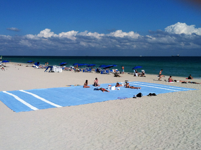 world biggest beach towel