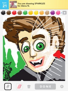 Draw Something: sparkles