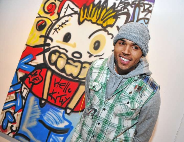 Did you know chris brown is an aspiring artist art of miami for Chris brown mural