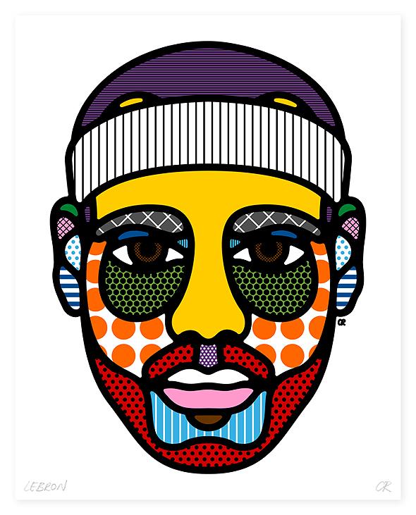 lebron art by Craig Redman