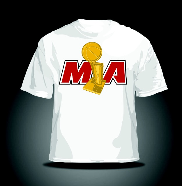 best miami heat championship t-shirt 2012