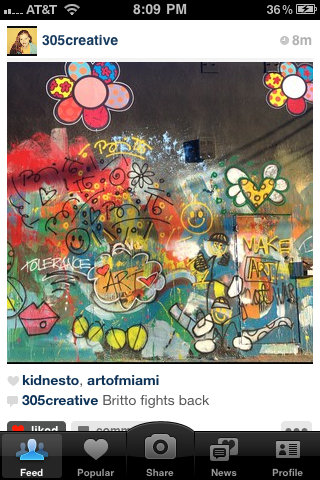 britto covers vandalized mural