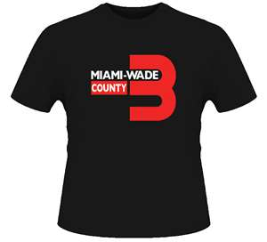 wade county miami heat t-shirt