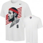 LEBRON JAMES OLYMPIC SHIRTS