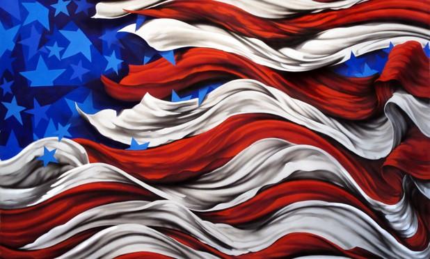 Painting Patriotic Art Contest