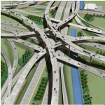 palmetto and dolphin expressway interchange construction