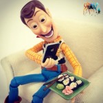 woody toy story posting on intsagram