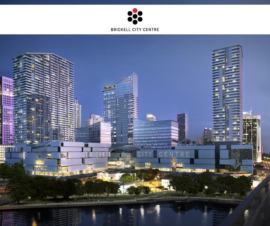 Citycenter: New Rendering For Brickell City Centre And Its Scaled Down