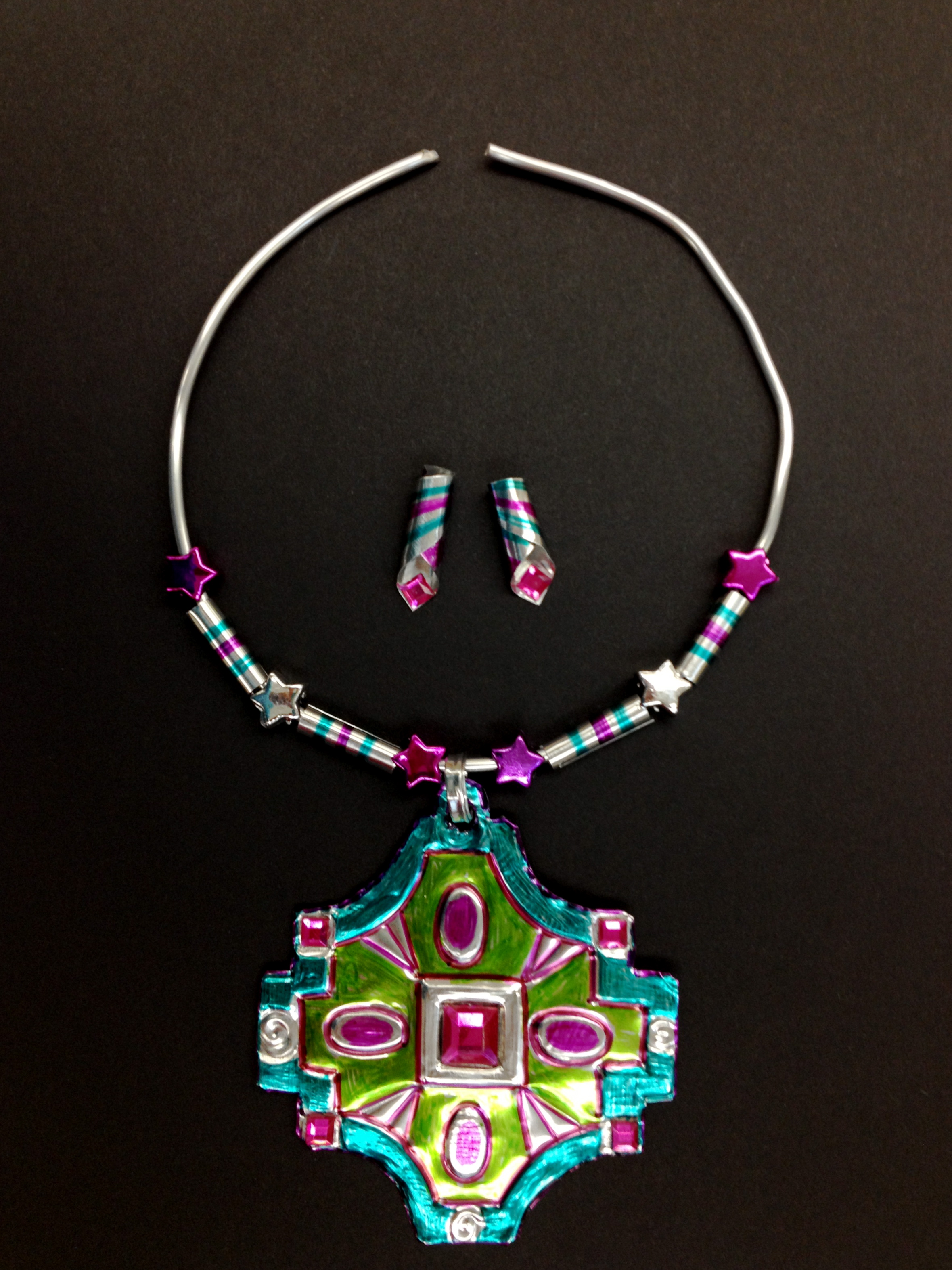 Easy Jewelry Art Lesson Using Sharpie Markers by Art Of Miami ...