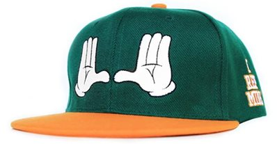 the U university of miami hat
