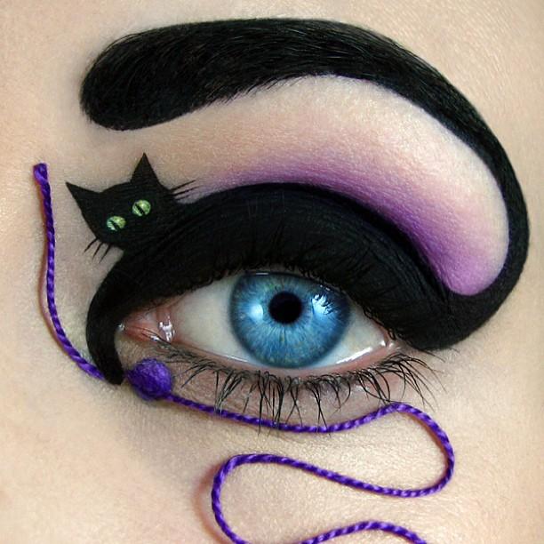 cat eyelid by tal peleg