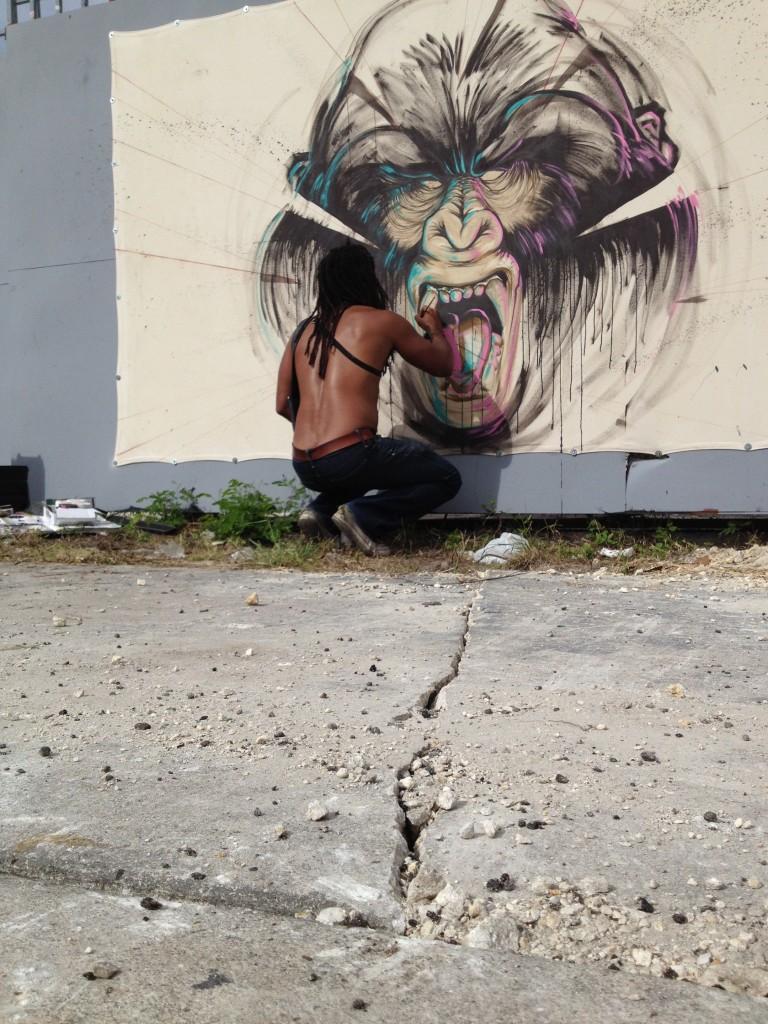 ruben ubiera mural art basel