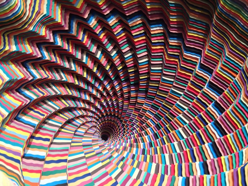 paper sculptures whirl pool jen stark