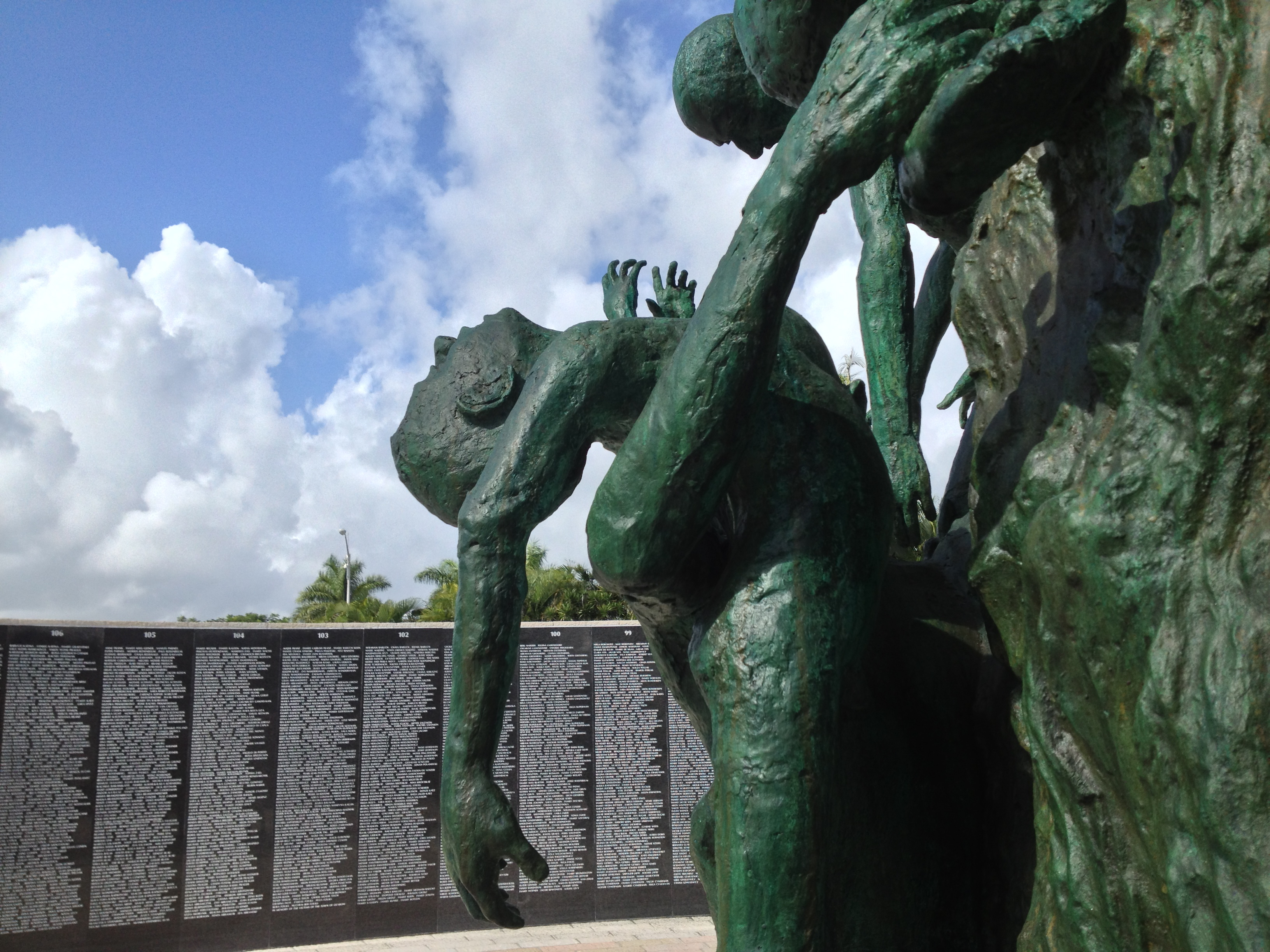 an examination of the holocaust memorial in miami Holocaust and genocide  and concludes with an examination of the photograph's postwar role in selected works  including the miami beach holocaust memorial.