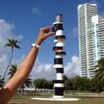 funny picture lighthouse public art miami