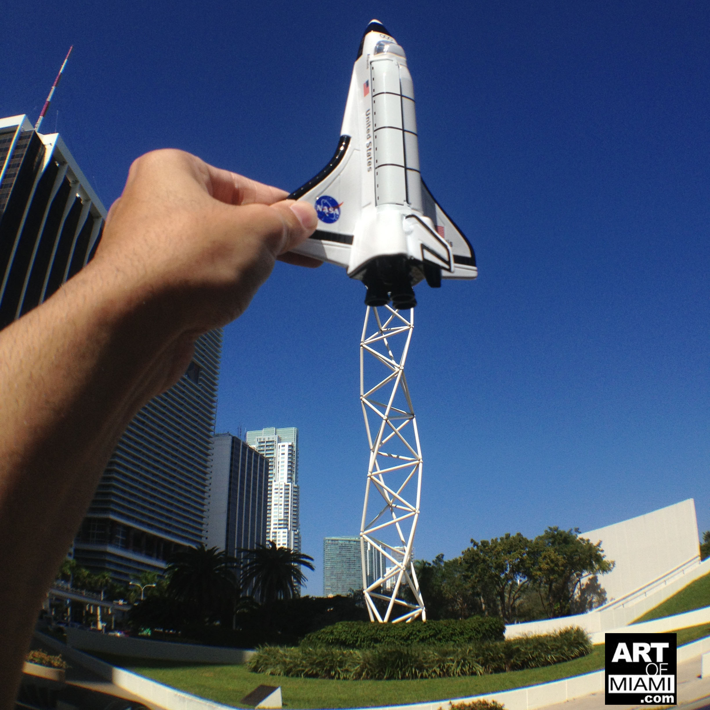 The Challenger Memorial by Isamu Noguchi » Art of Miami