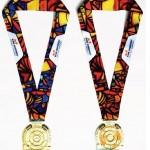 miami marathon medal 2014