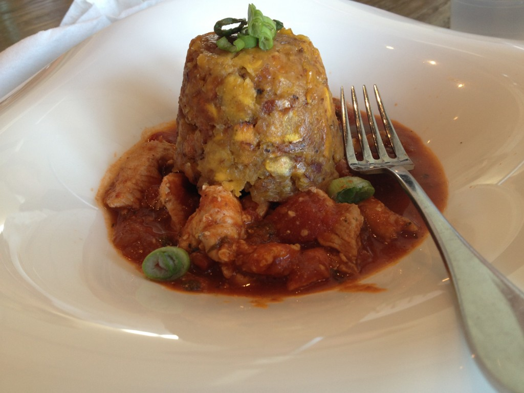 Mofongo at Jimmyz Kitchen