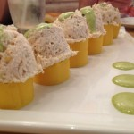 mini causa at suviche restaurant in miami