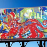 art on billboards miami