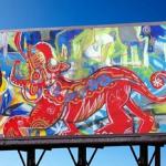 art on billboards miami
