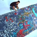 Alexander MIjares picture by Harold Rosario for ArtOMIami.com