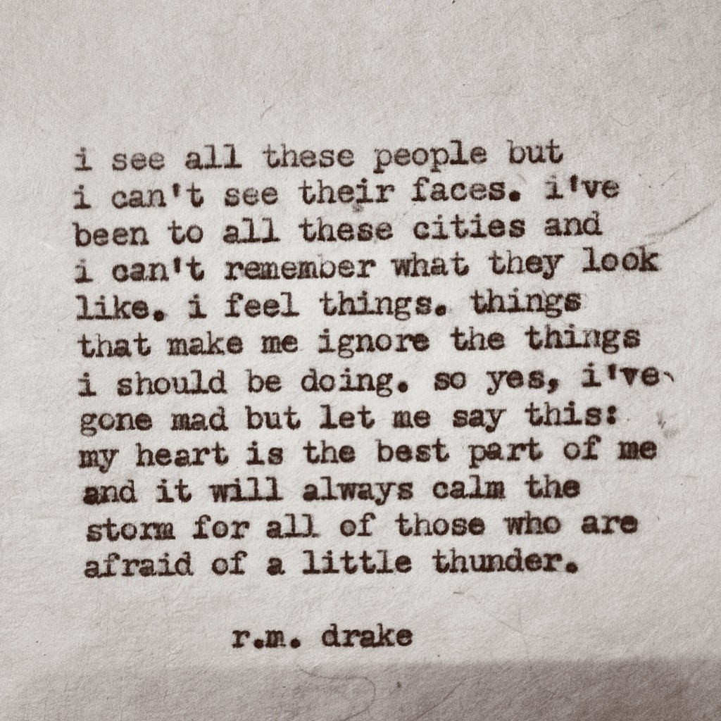 instagram love poetry by rm drake from Miami Florida